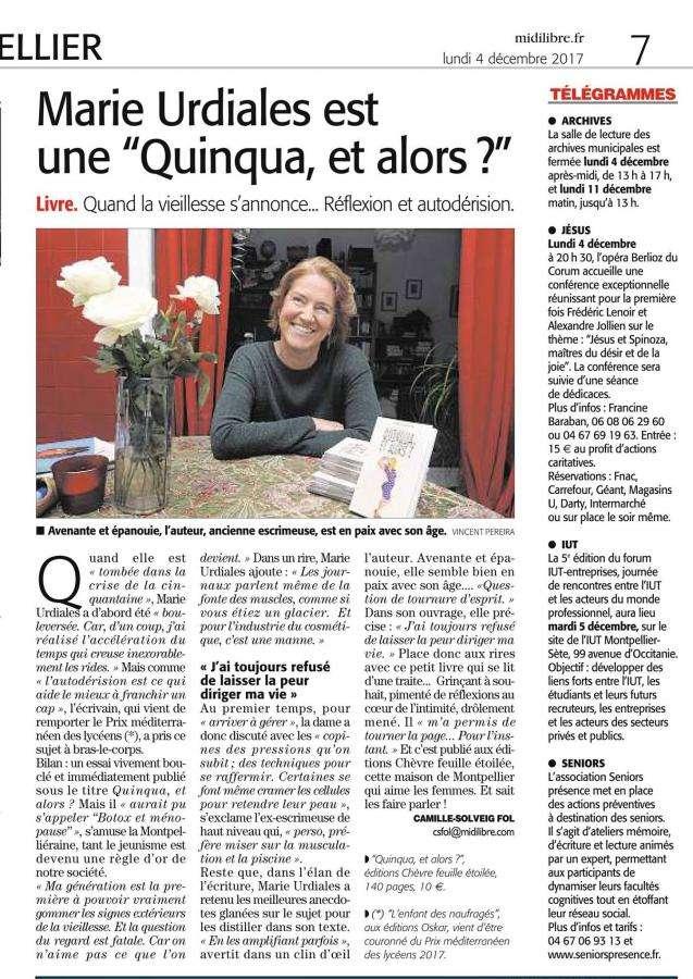Article Quinqua, et alors ?