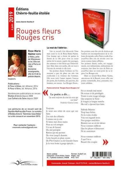 Rouges Fleurs Rouges Cris 5