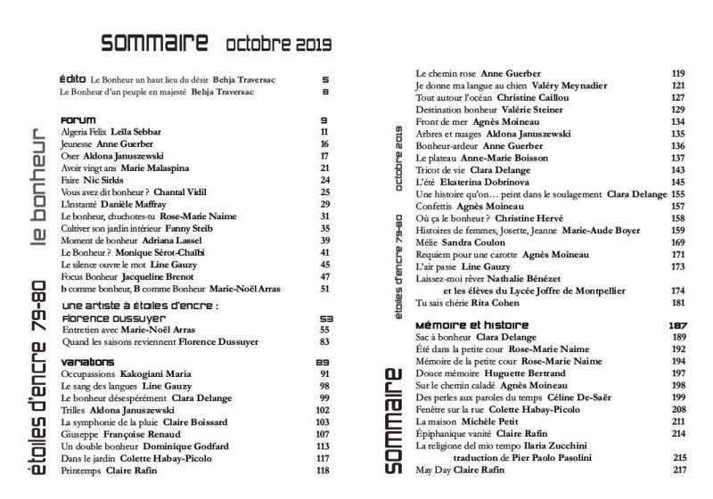 Revue 79-80 - Le Bonheur 1