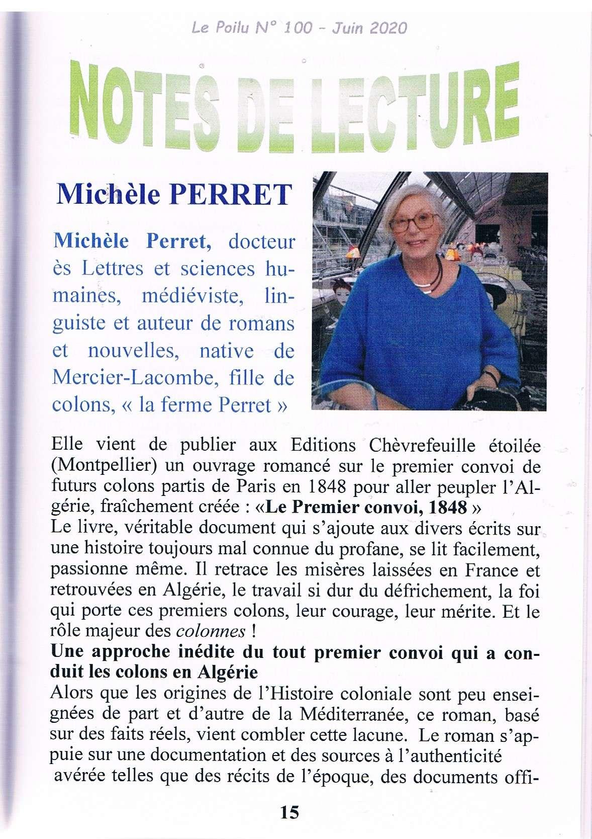 Articles de presse 2020 -Éditions Chèvre-feuille étoilée