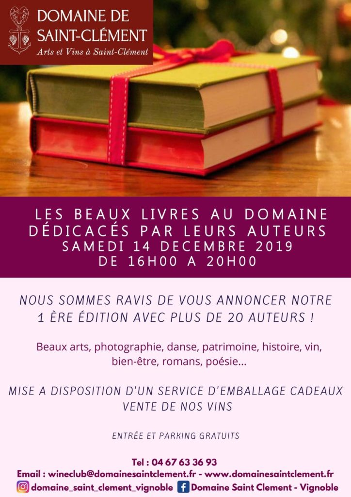 Dédicace de Caroline Fabre Rousseau