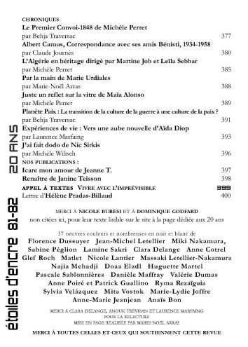 Revue 81-82 - Vingt ans 10