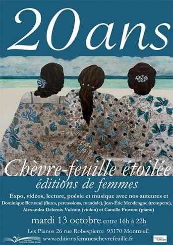 Fête des 20 ans aux Pianos de Montreuil -Éditions Chèvre-feuille étoilée