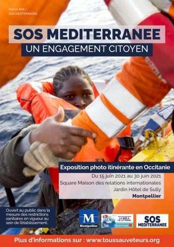 """La grande exposition """"SOS MEDITERRANEE"""" -Éditions Chèvre-feuille étoilée"""